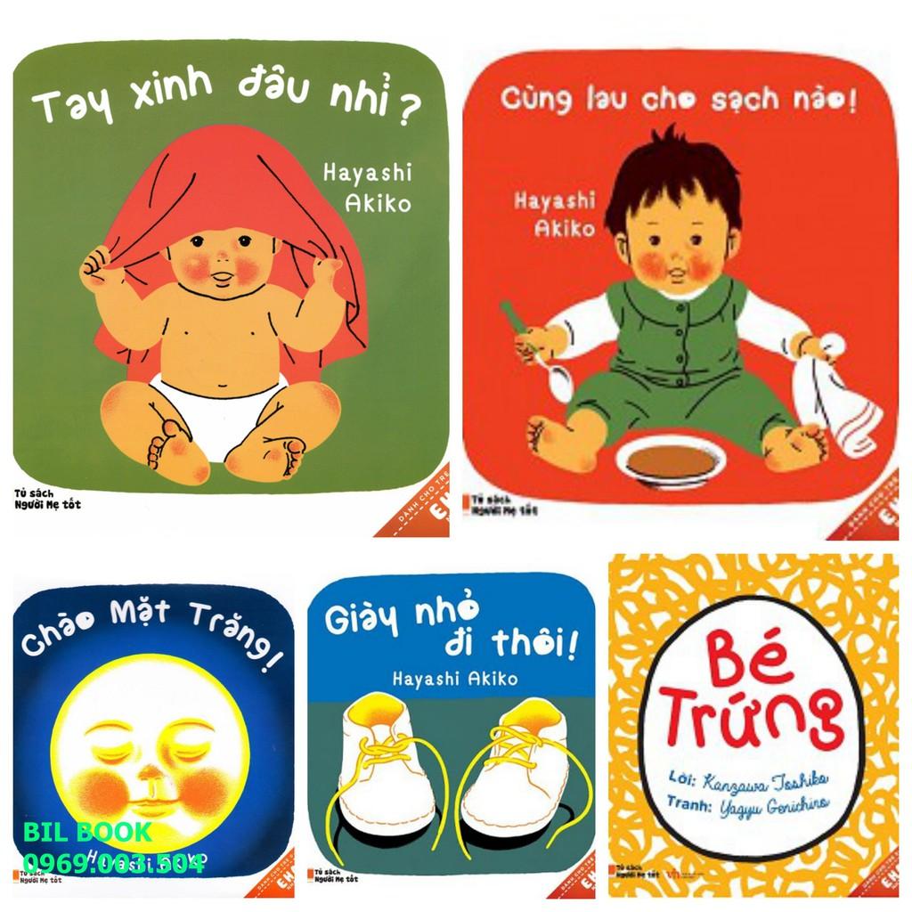 Sách - Ehon Nhật Bản (5 cuốn) cho bé 0-3 tuổi