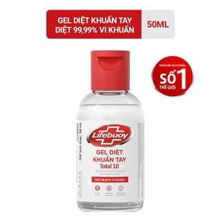 Gel diệt khuẩn tay Lifebuoy Total10 50ml thumbnail