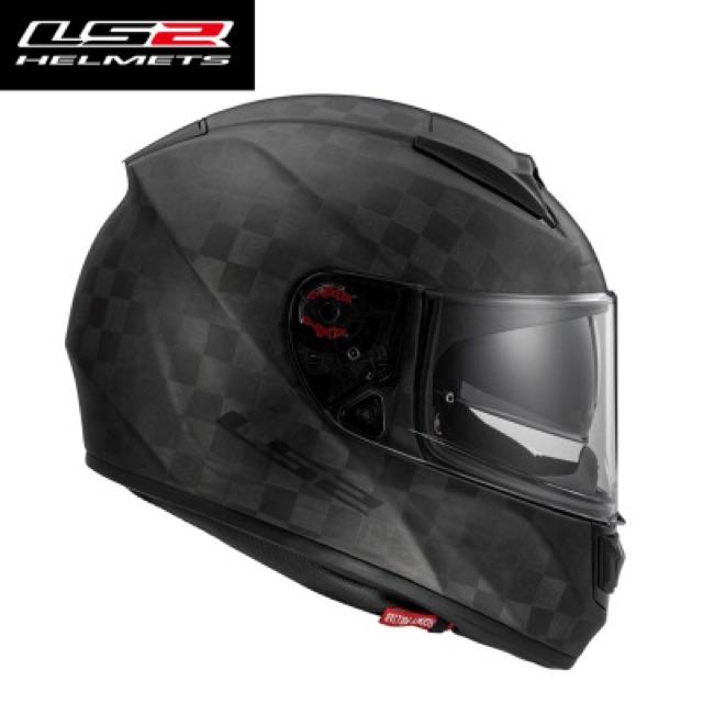 Nón bảo hiểm Ls2 sợi carbon 24K Ff397
