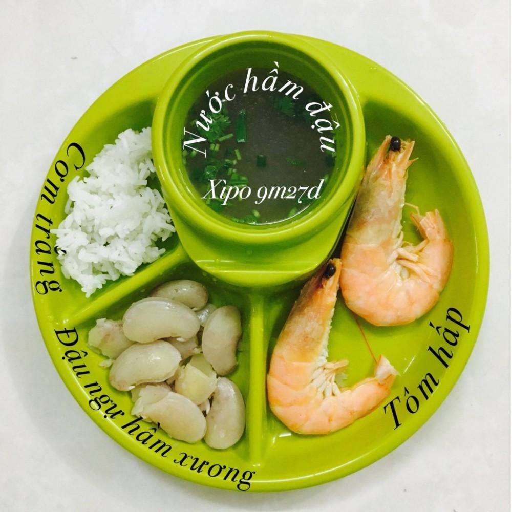 [Mã MKBCSALE13 giảm 50k đơn 250k] Khay ăn dặm BLW cho bé ăn dặm hàng nội địa Nhật