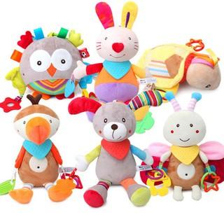 AD Stuffed Animal Toys Baby Toys Infants Teether Dolls Brinquedos Birthday Gift