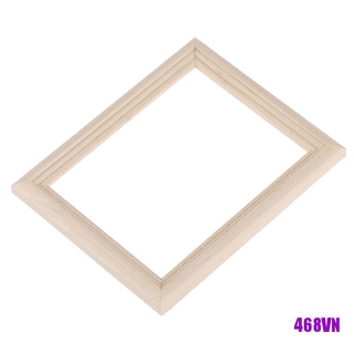 [DOU]1/12 Dollhouse Miniature Wooden Photo Frame Model Toys Furniture Accessories