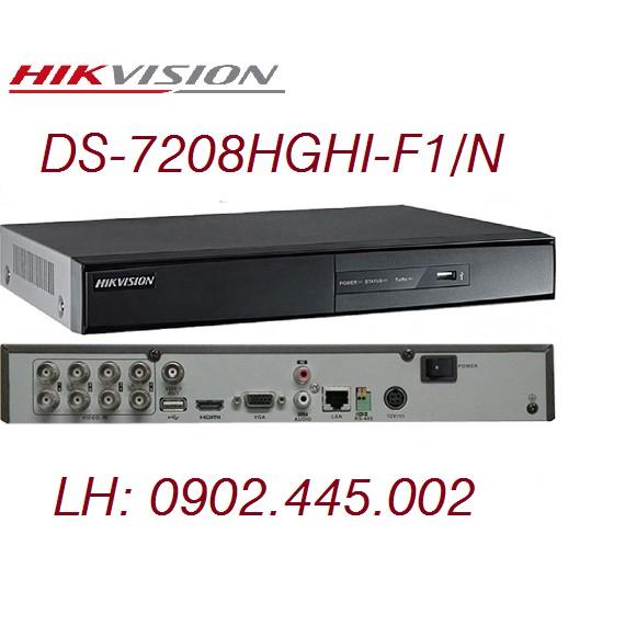 ĐẦU GHI HÌNH DS-7208HGHI-F1/N HIKVISION