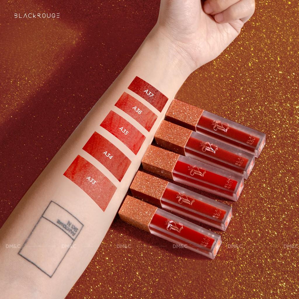 Son Kem Black Rouge Air Fit Velvet Tint Ver 7   Shopee Việt Nam