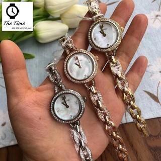 ( Sẵn 5 màu ) Đồng hồ nữ SWAROVSKI Aila Mini 52533 case 28mm.3atm thumbnail