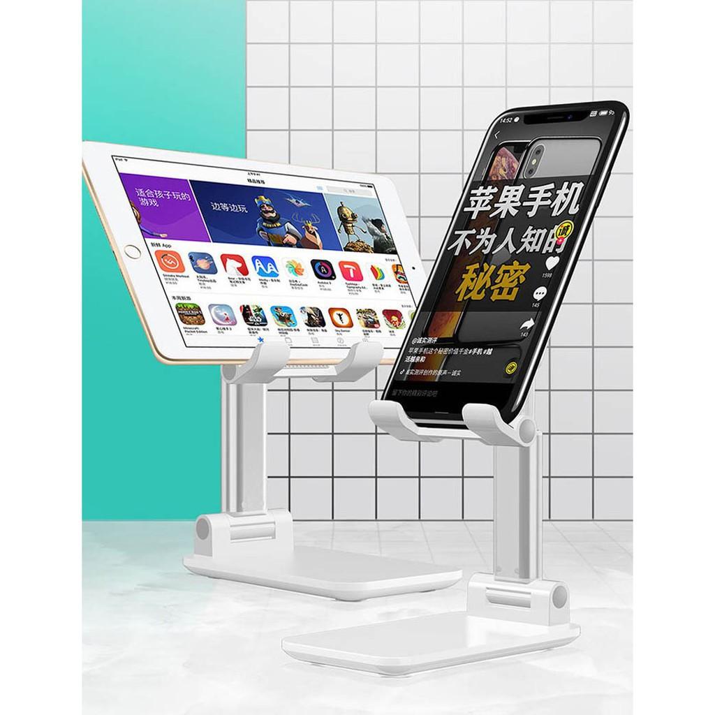 Kệ điện thoại, iPad để bàn có thể gập gọn, chống tê mỏi tay