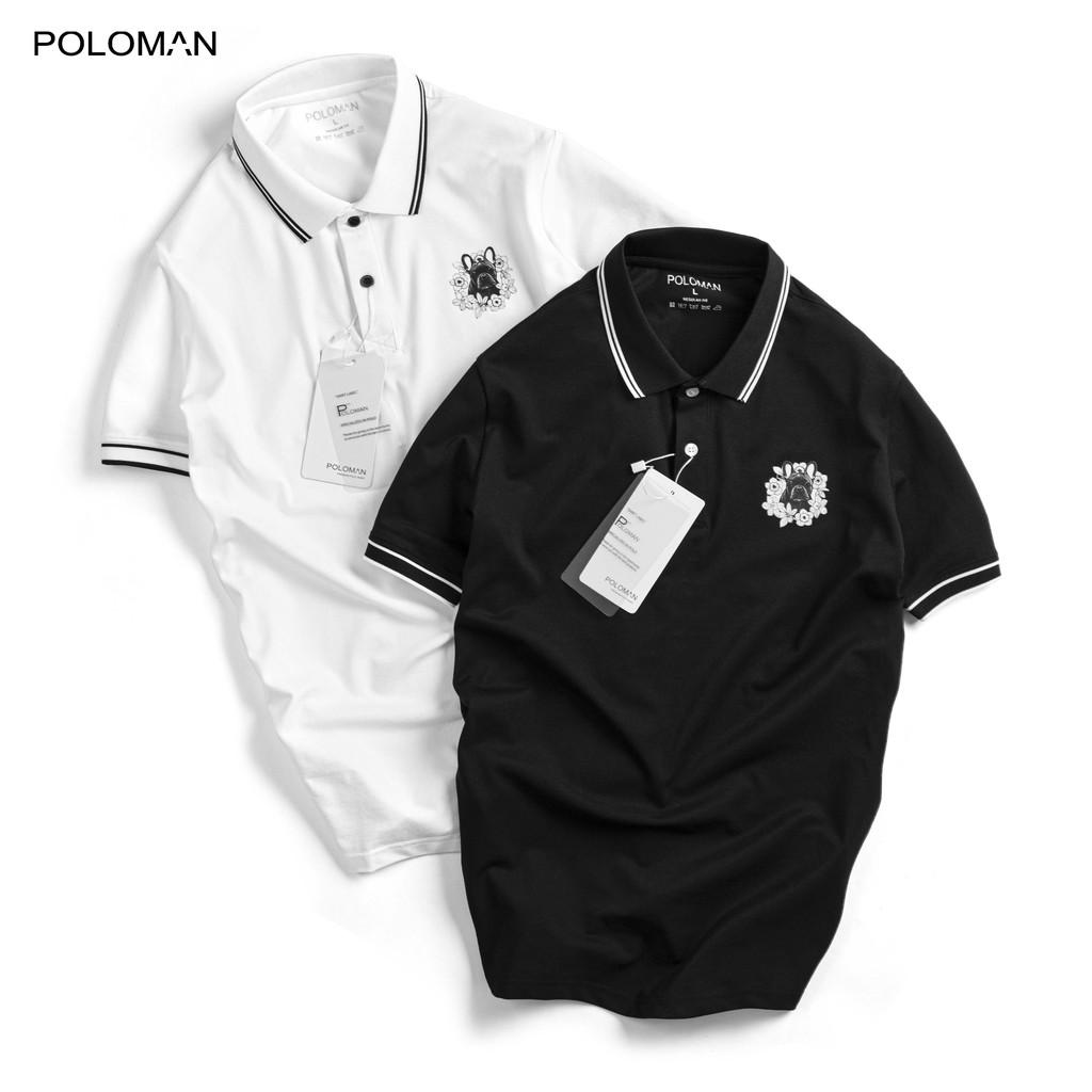 Áo thun Polo nam Verdo in logo ngực trái vải cá sấu Cotton xuất xịn,chuẩn form,trẻ trung- nặng động P40 - POLOMAN
