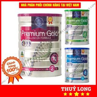 Sữa Hoàng Gia Úc Premium Gold số 1,2,3 (400-900g)