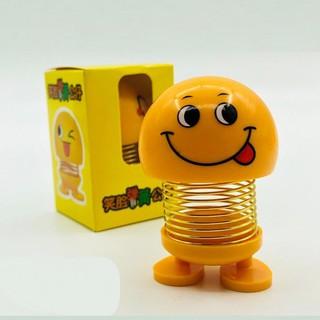 Thú nhún Emoji lò xo lắc đầu mặt cười siêu dễ thương