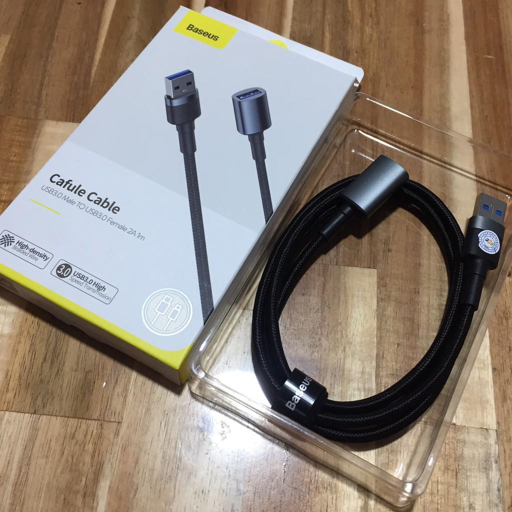 Cáp nối dài cổng USB3.0 Baseus Cafule 1m