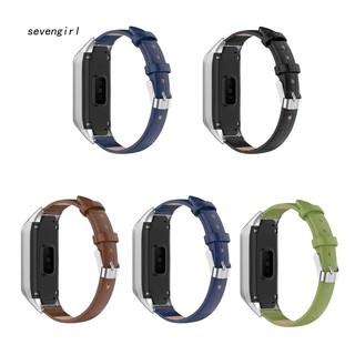 Dây da giả nhiều màu thay thế cho đồng hồ thông minh Samsung Galaxy Fit SM-R370