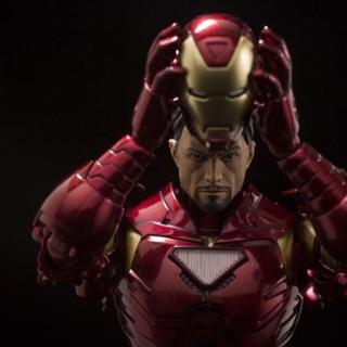 Mô hình động Sentinel Armorize Iron Man Metallic Ver
