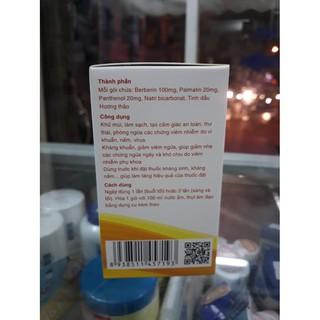 Berikit Kit vệ sinh phụ nữ Mẫu mới gồm 15 gói rửa của Dược phẩm Cát Linh 2