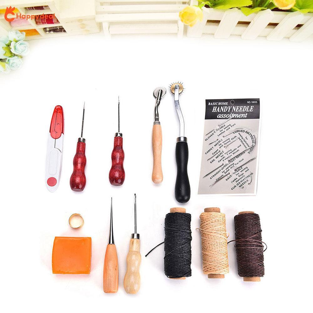 Bộ dụng cụ lấy dấu đục lỗ may đồ da thủ công 13 món chuyên dụng DIY - 13922450 , 2406737382 , 322_2406737382 , 145872 , Bo-dung-cu-lay-dau-duc-lo-may-do-da-thu-cong-13-mon-chuyen-dung-DIY-322_2406737382 , shopee.vn , Bộ dụng cụ lấy dấu đục lỗ may đồ da thủ công 13 món chuyên dụng DIY