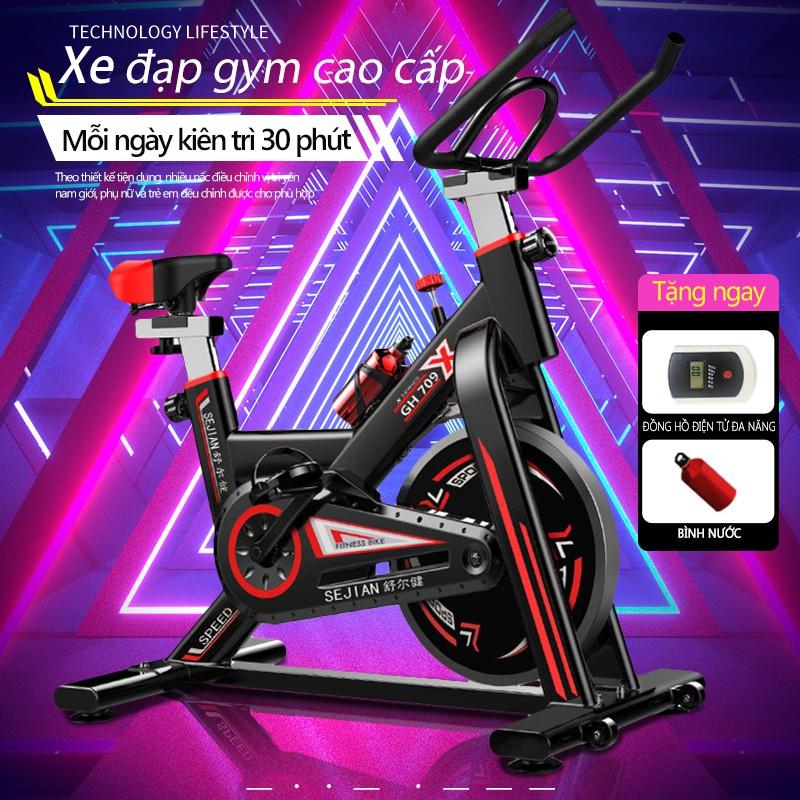 Xe đạp tập thể dục Air bike(Red)SP08-D