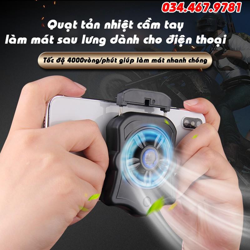 Quạt tản nhiệt gaming làm mát dành cho điện thoại - Model P9