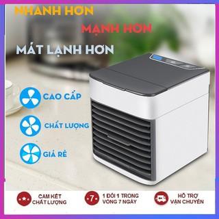 Máy quạt điều hòa mini để bàn làm mát không khí bằng hơi nước siêu mát tiết kiệm điện