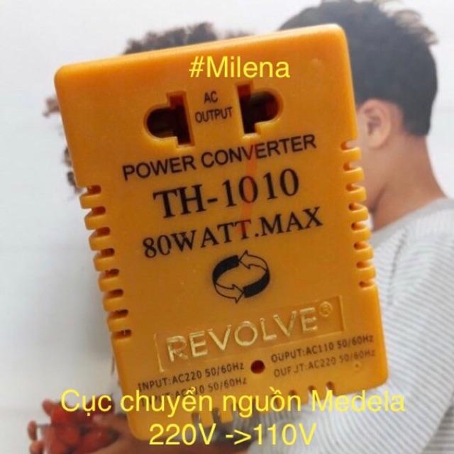 Cục Chuyển Nguồn Điện 220V <-> 110V, 80W, Chính Hãng