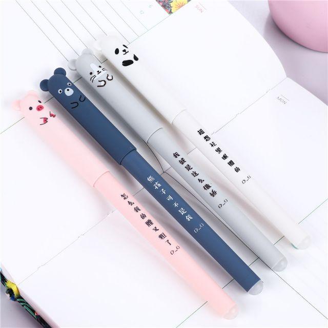 Bút mực nước xóa được ngòi 0.35 mực đen