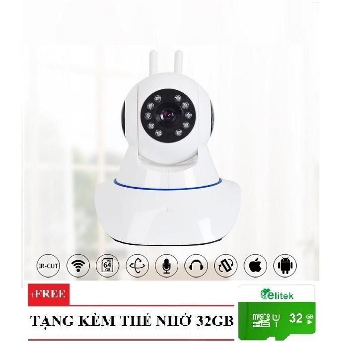 Camera Dùng App YYP2P-Yoosee 2 Ăng-ten A9LS 1080P Giám Sát Ngày Đêm + Thẻ Nhớ 32GB - 2622263 , 803228403 , 322_803228403 , 769000 , Camera-Dung-App-YYP2P-Yoosee-2-Ang-ten-A9LS-1080P-Giam-Sat-Ngay-Dem-The-Nho-32GB-322_803228403 , shopee.vn , Camera Dùng App YYP2P-Yoosee 2 Ăng-ten A9LS 1080P Giám Sát Ngày Đêm + Thẻ Nhớ 32GB