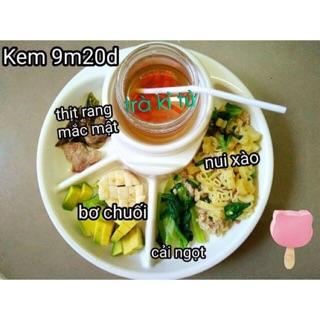 Khay ăn dặm Inomata - hàng nội địa Nhật
