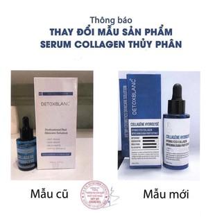Serum colagel thủy phân dưỡng trắng chuyên sâu detoxblanc thumbnail