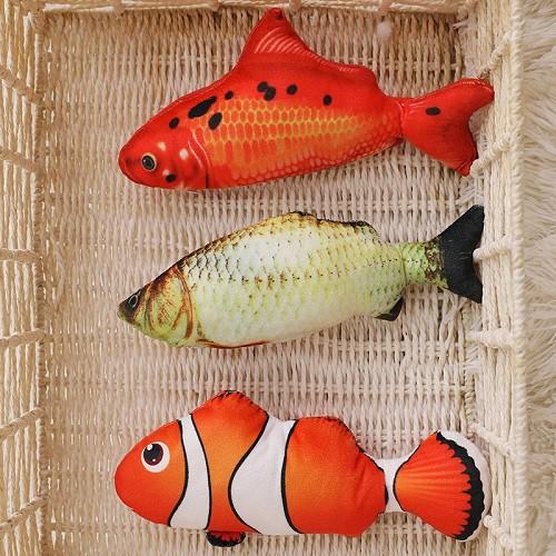 Cá nhảy sạc điện Cá nhảy đồ chơi nhiều màu siêu hot cho bé