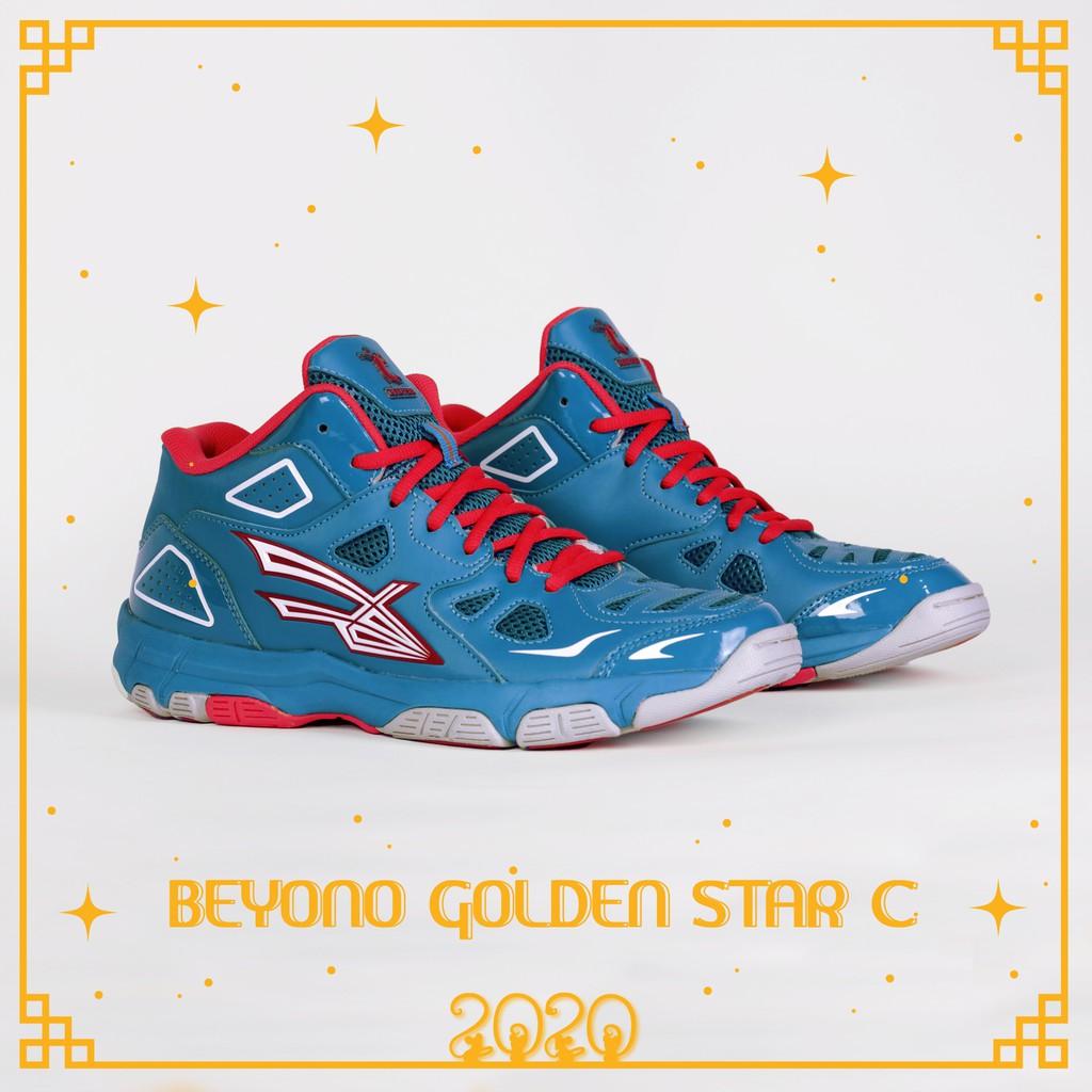 GIÀY BÓNG CHUYỀN BEYONO GOLDEN STAR C - CYAN