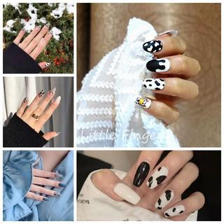 Set 24 móng tay giả thời trang dành cho nữ