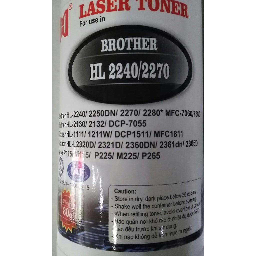 Chai mực nạp đa năng Brother HL 2240 - 2270 - nạp được tất cả các loại máy in laser Brother