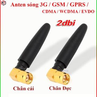 Anten sóng 3G / GSM / GPRS / CDMA / WCDMA / EVDO / 2dbi đầu SMA dài 5cm (anten module SIM)