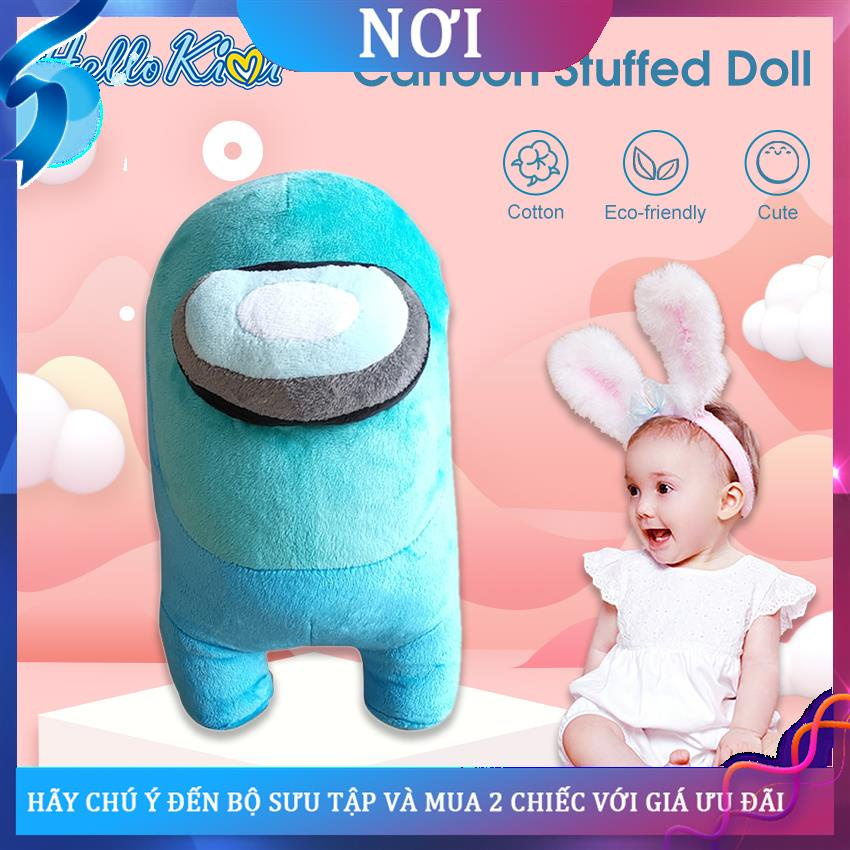 ▣◄♣HelloKimi Stuffed Doll Plush Toys Cartoon Action Game Figures Doll Crewmate Plushie Toy Lovely Stuffed Cushion Pillow