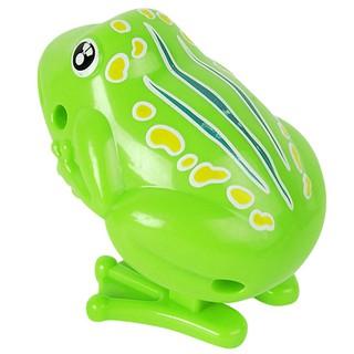 Yêu ThíchĐồ chơi vặn dây cót hình chú ếch nhảy vui nhộn dễ thương cho bé