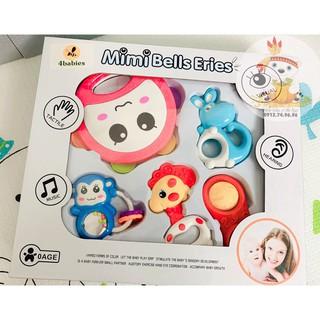 Hộp đồ chơi xúc xắc an toàn 5 món Toys House