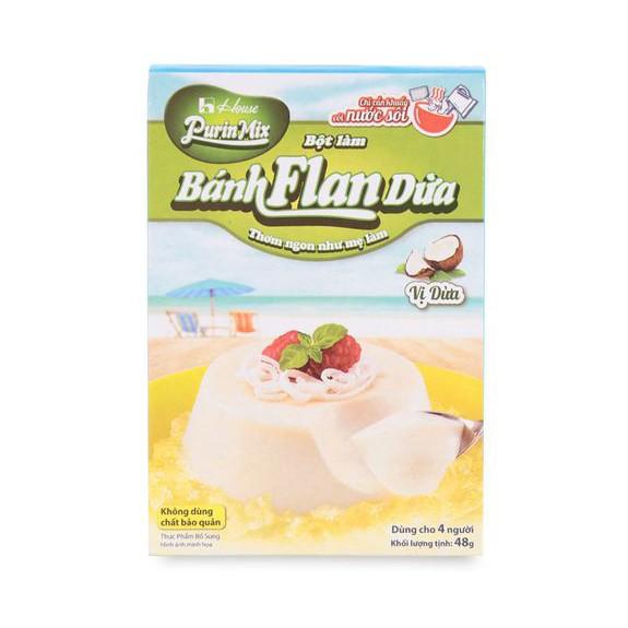Bột làm bánh Flan Nhật Bản vị dừa Purin Mix 48g - 3502958 , 814981621 , 322_814981621 , 23200 , Bot-lam-banh-Flan-Nhat-Ban-vi-dua-Purin-Mix-48g-322_814981621 , shopee.vn , Bột làm bánh Flan Nhật Bản vị dừa Purin Mix 48g