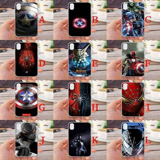 For iPhone XR Avengers Silicone Phone Case