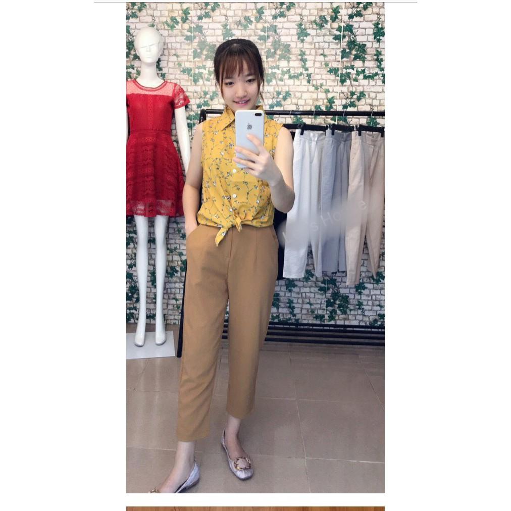 Quần baggy đũi nữ Ruby Fashion, chất mát, mềm mịn, lưng chun, form chuẩn