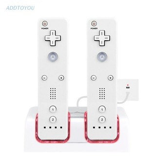 3C 2-in-1 Dual Charging Station for Wii Controller with Two 2800MAH Batteries thumbnail