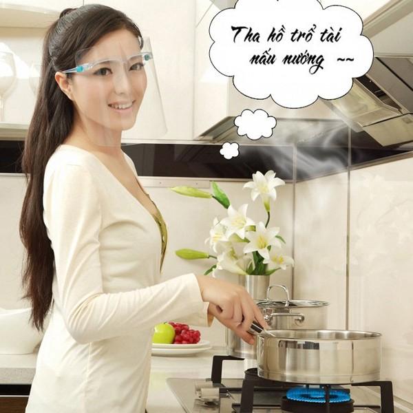 Kính chống bắn dầu mỡ Paul lorna an toàn khi nấu ăn