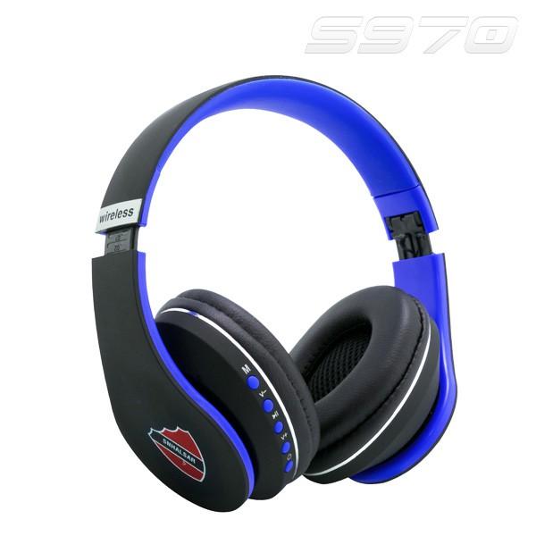 - Tai nghe Bluetooth S970 - Nghe nhạc cực êm