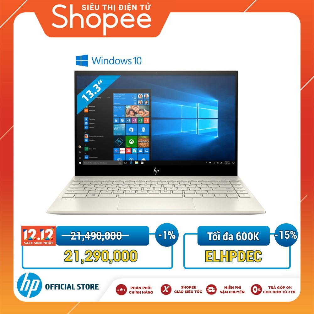 """[Mã ELHPDEC giảm 15%]Laptop HP ENVY 13-AQ0025TU(I5-8265U/8GB DDR4/128GB SSD/13,3""""FHD/WIN10/6ZF33PA)-Chính Hãng"""