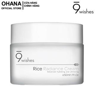 Kem Dưỡng Ẩm, Dưỡng Trắng Da 9 Wishes Rice Radiance Cream 50ml thumbnail