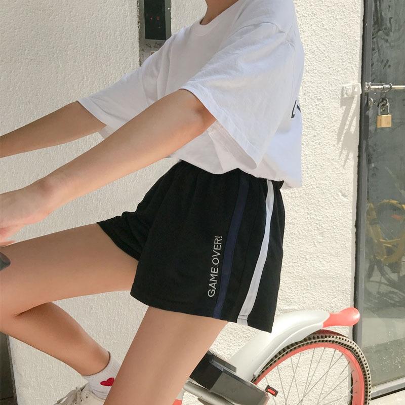 quần short ống rộng thể thao cho nữ