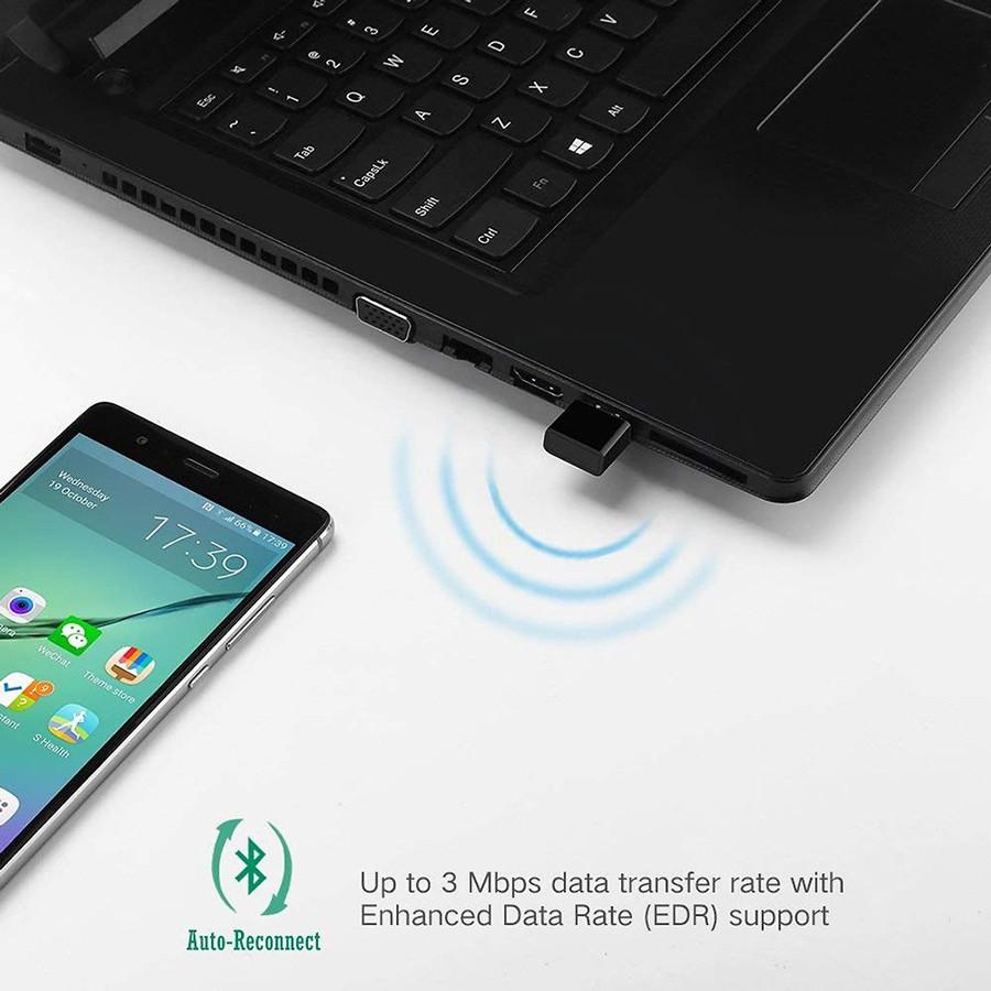 USB thu Bluetooth 4.0 Ugreen 30524 màu đen chính hãng - HapuStore