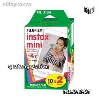 Film máy chụp hình lấy liền hộp 20 tấm Instax Mini Fujifilm chính hãng giá rẻ thumbnail