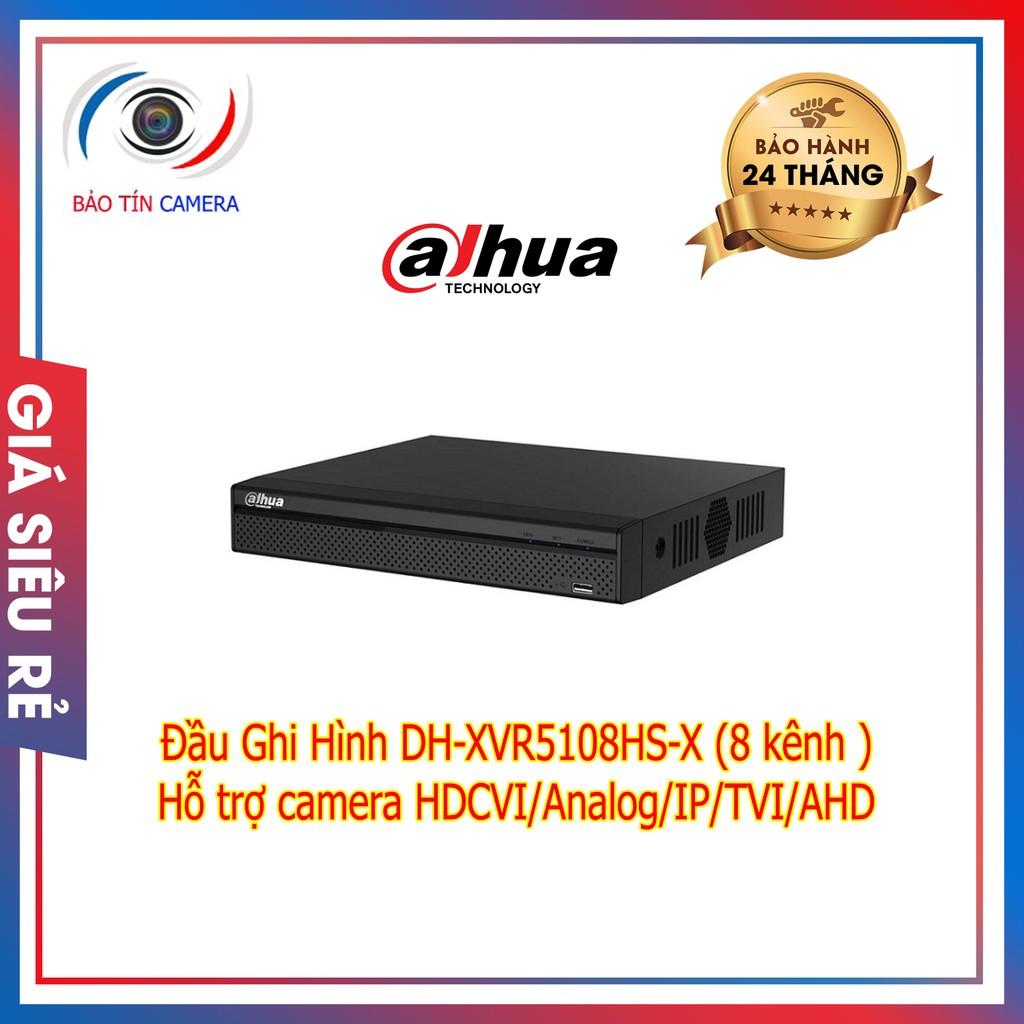 Đầu ghi hình DH-XVR5108HS-X 8 kênh chính hãng bảo hành 24 tháng