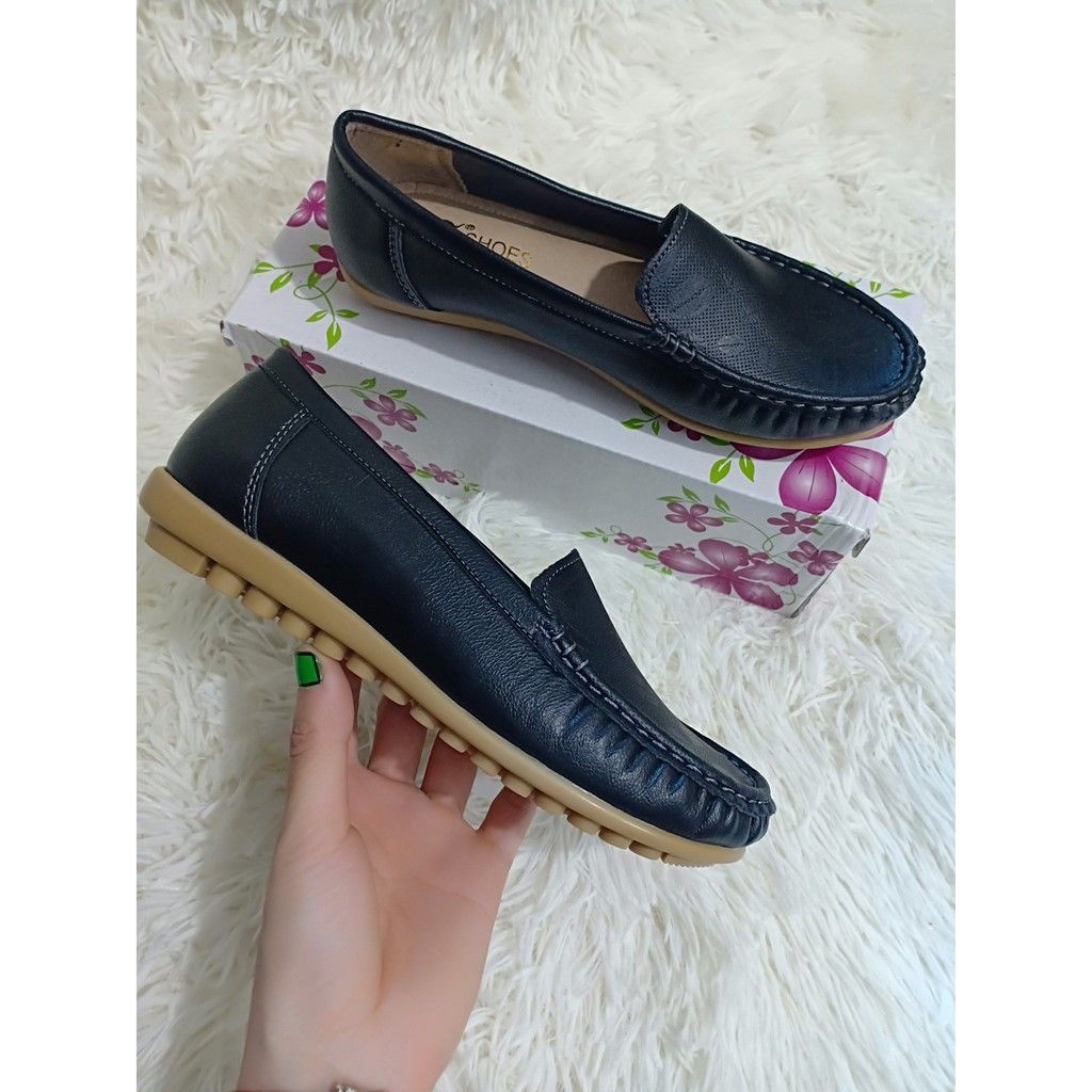 Giày Lười Nữ Giày Mọi Thời Trang Cao Cấp - SP46