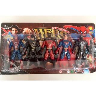 [ĐỒ CHƠI] [HÀNG ĐẸP GIÁ TỐT]đồ chơi cho bé – Vỉ 5 siêu nhân anh hùng vũ trụ loại đẹp (SP156) [AN TOÀN]