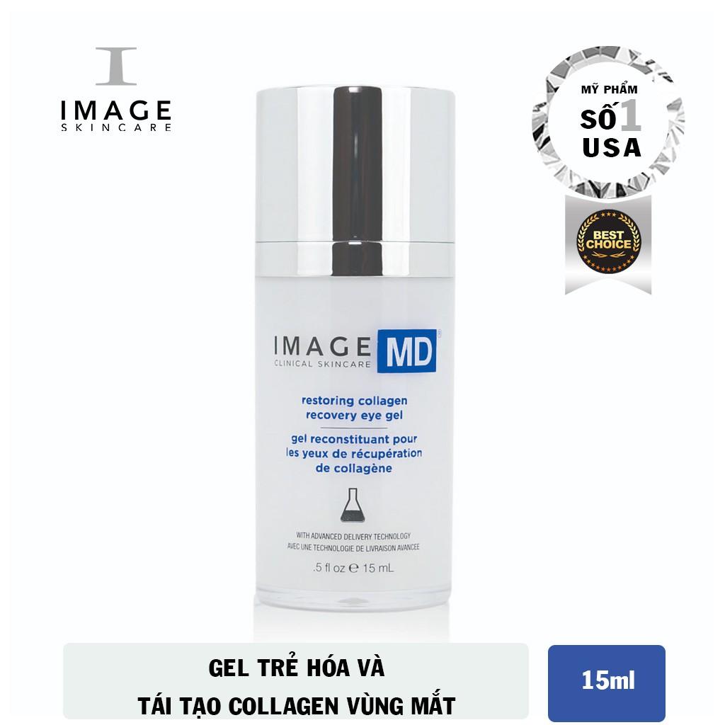 Gel Trẻ Hóa Và Tái Tạo Collagen Vùng Mắt Image MD Restoring Collagen Recovery Eye Gel 15ml