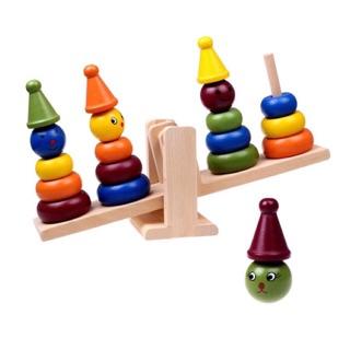 Đồ chơi tháp hề cân bằng